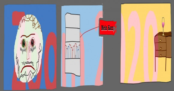 cartoons of zoom screens