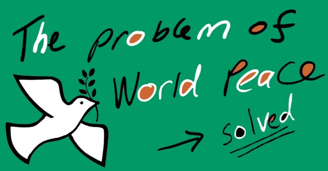 world peace header